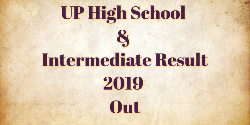UP board result 2019 released for class 10th, 12th; check @upresults.nic.in