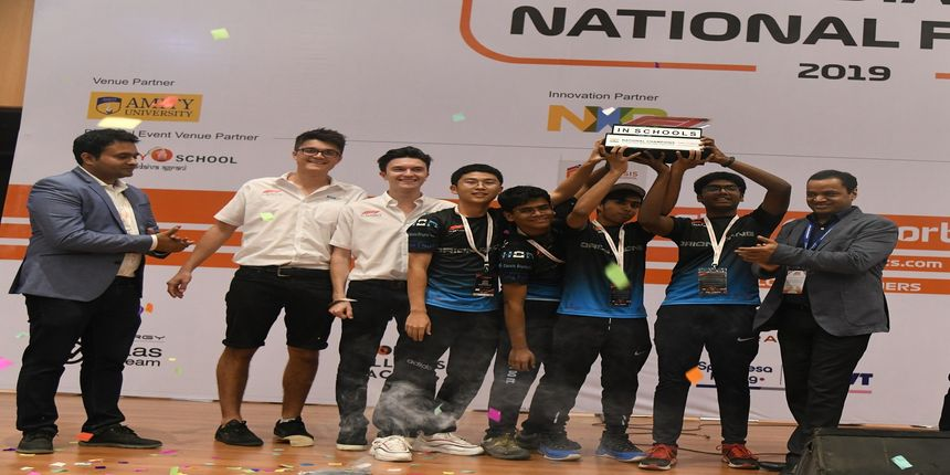 Team Orion Racing clinches the F1 in Schools India National Finals