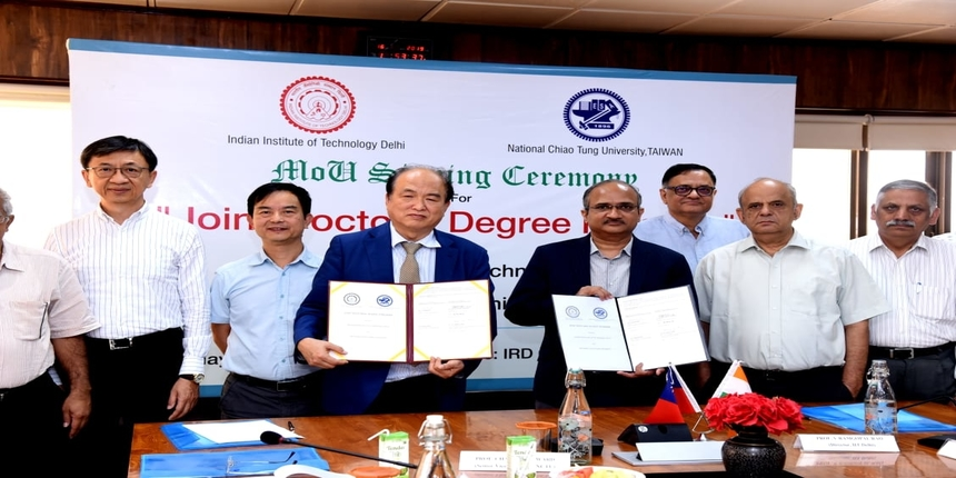 IIT Delhi starts Joint PhD Programme with National Chiao Tung University (NCTU) Taiwan