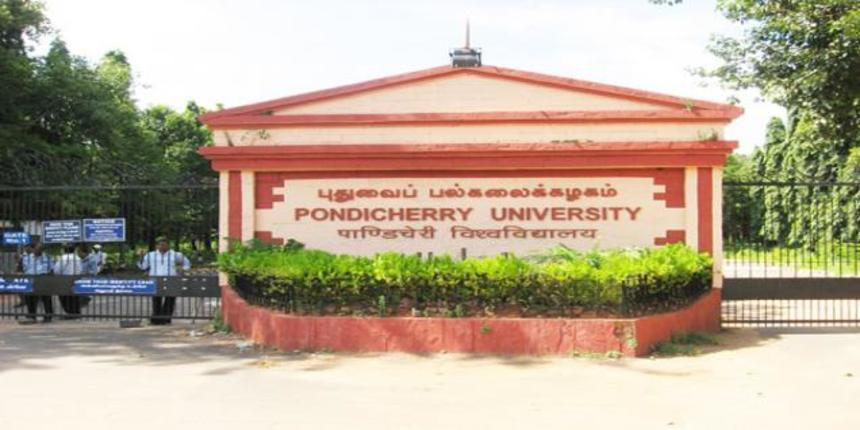 Pondicherry University extends the deadline for application forms; apply till May 10