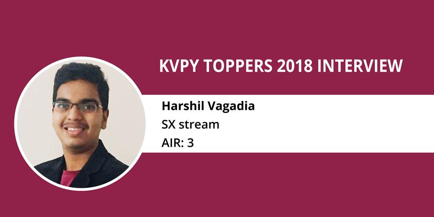 KVPY 2018 Topper Interview - Harshil Vagadia
