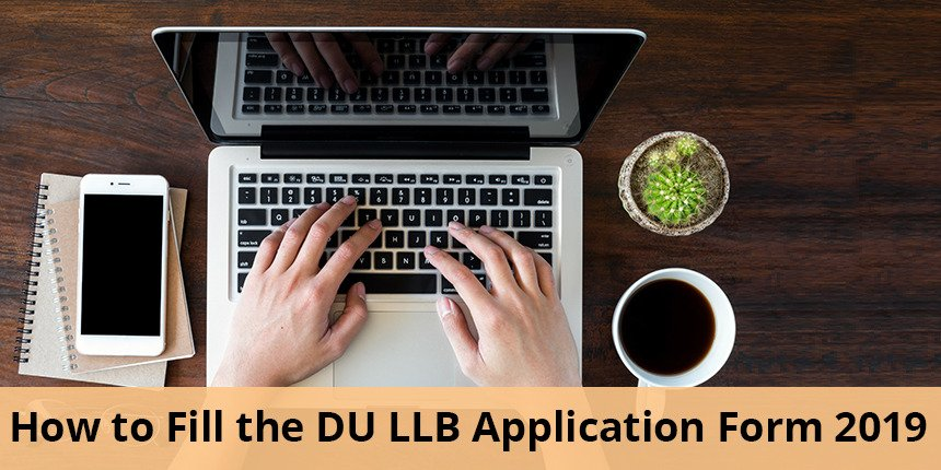 How to fill DU LLB application form 2020