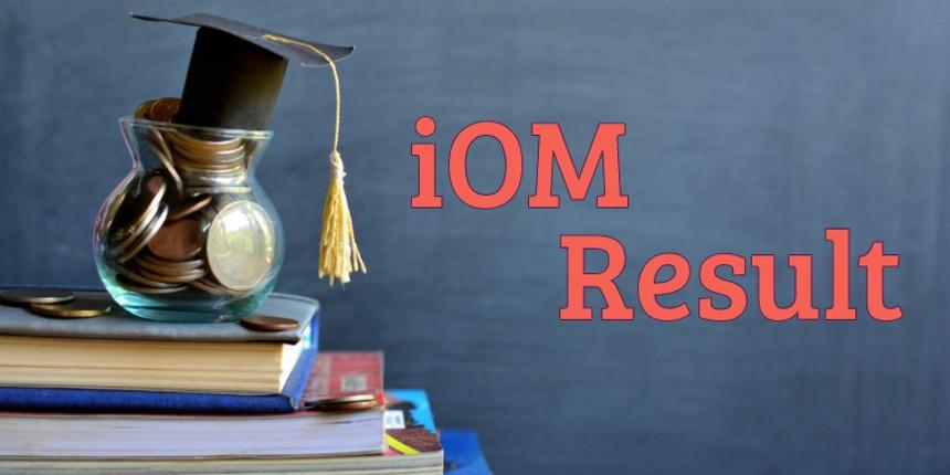 iOM Result 2019