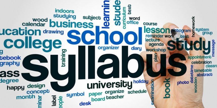Sainik School Syllabus 2020
