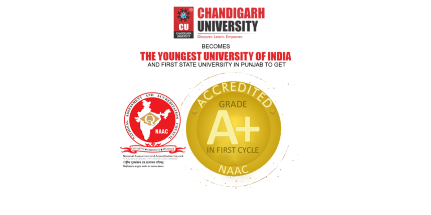 Chandigarh University becomes first private state university in Punjab to be accredited A+ grade by NAAC