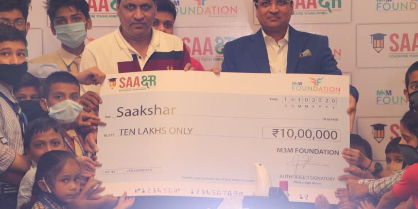 M3M Foundation launches 'SAAKSHAR' scholarship programme for 4000 underprivileged children
