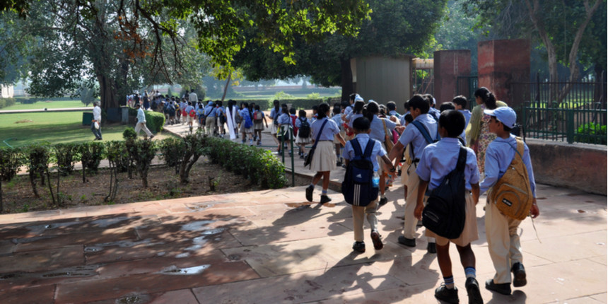 Noida: Students return to class after 7 months; 39 pc attendance in govt schools, 11 pc in private