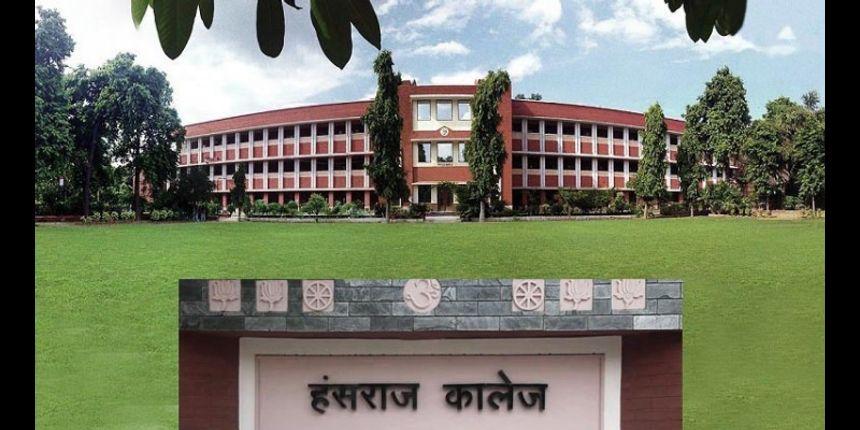 Hansraj College third cut off released @hansrajcollege.ac.in; check details