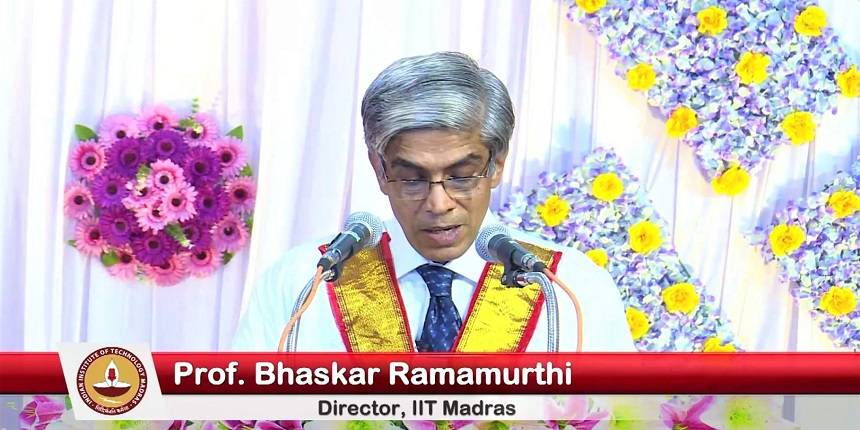 IIT-Madras convocation held, technology gives event a touch of reality