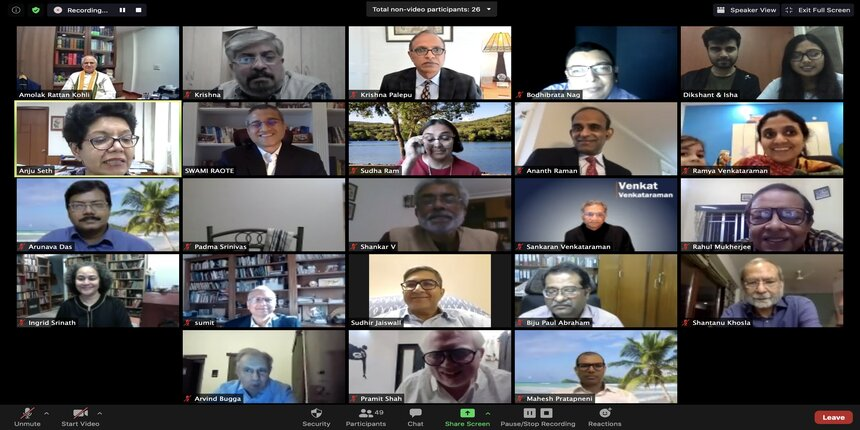 IIM Calcutta hosts virtually the 59th Foundation Day Lecture