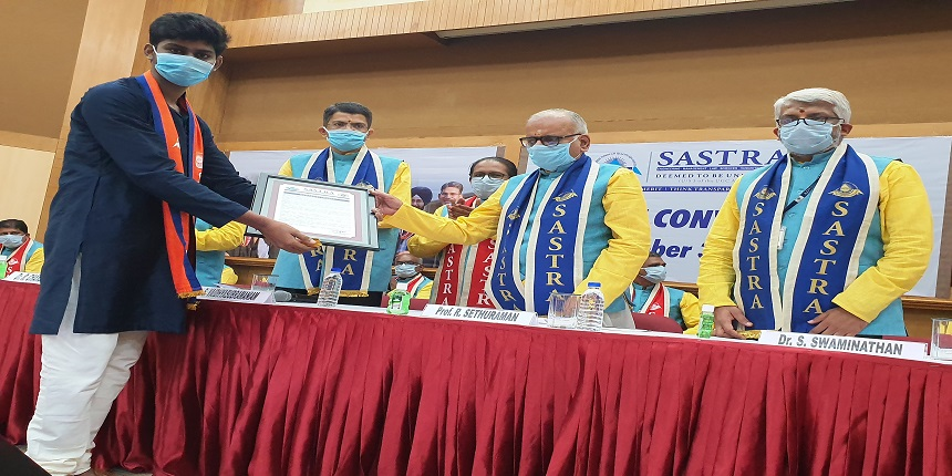 SASTRA Deemed University holds 34th convocation; students asked to engage in lifelong learning