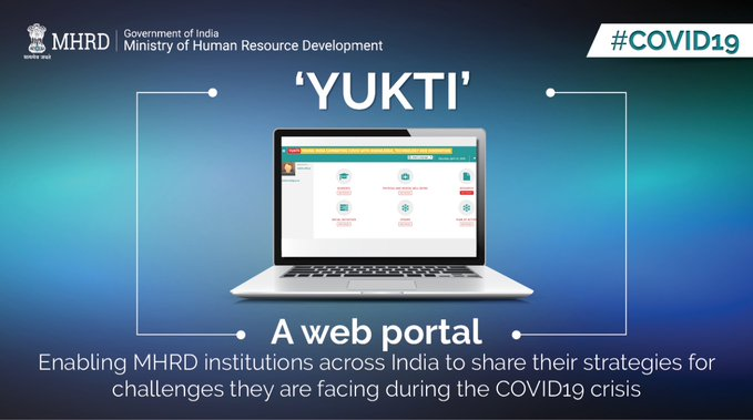 MHRD launches portal YUKTI to track academic and research initiatives