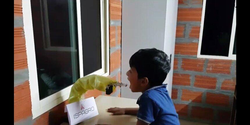 IIM-K's robotic arm to help speedy collection of coronavirus samples
