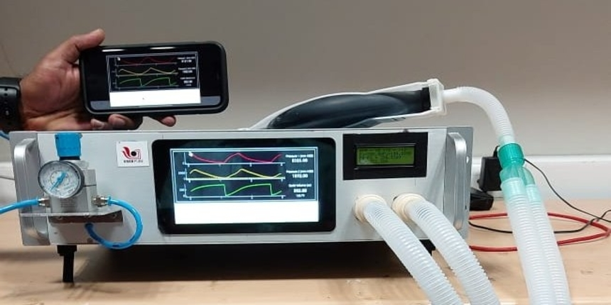 Fighting COVID-19: IISER, Pune physicists develop low-cost ventilator