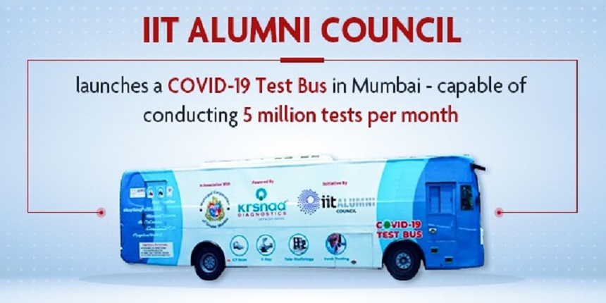 IIT alumni council has launched India's first COVID-19 test bus