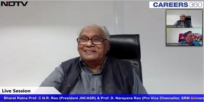 India must invest more in science: CNR Rao