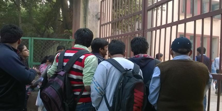 Over 94,000 students have registered for admission to DU UG courses