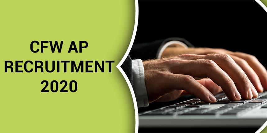 CFW AP Recruitment 2020 Out: Apply for 665 CAS Vacancies