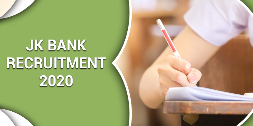 JK Bank Recruitment 2020 – Apply for 1850 PO and Banking Associates Posts