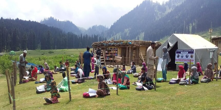 In Pictures: Kashmir's community schools for children in remote areas