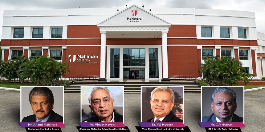 Mahindra group launches university in Hyderabad