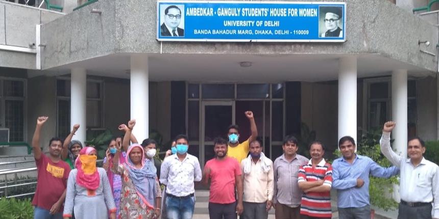 DU hostel sacks 16 contractual workers amid pandemic