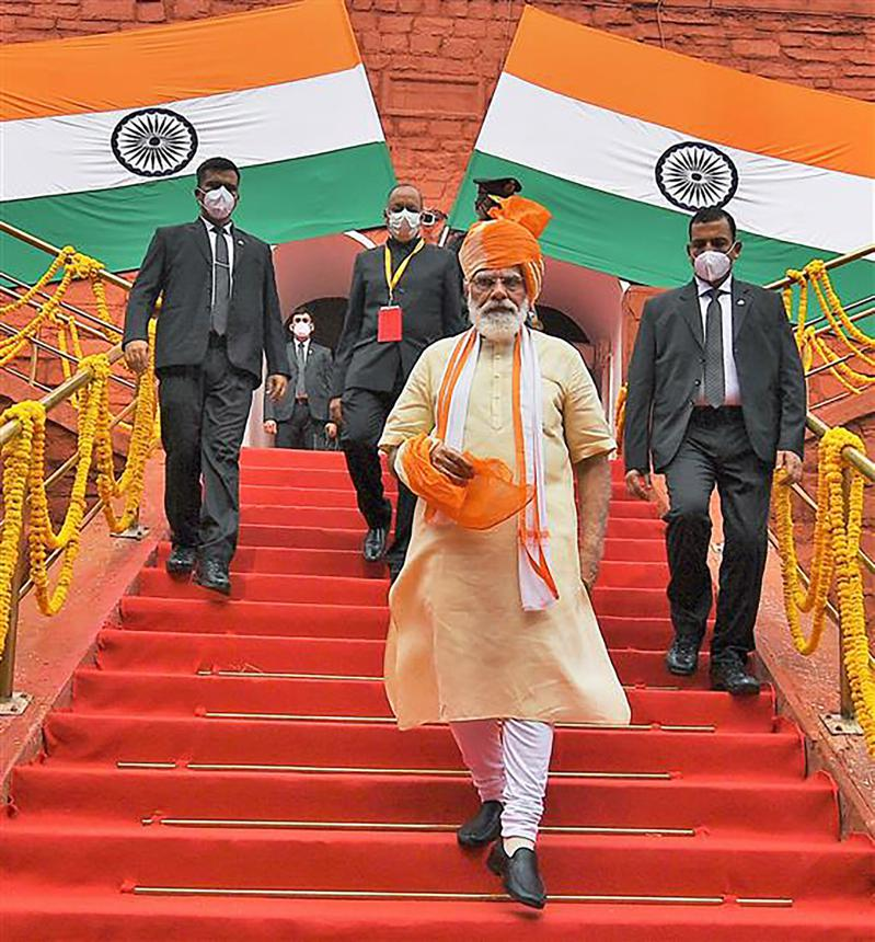 Independence Day 2020: PM Modi rues absence of children at Red Fort