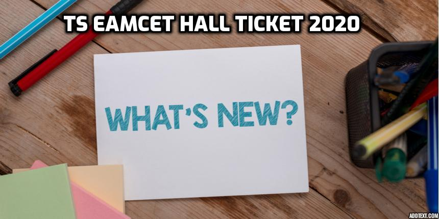 TS EAMCET hall ticket 2020 releasing tomorrow; check important details