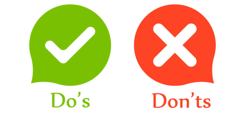 UCEED CEED 2021 - Do's and Don'ts