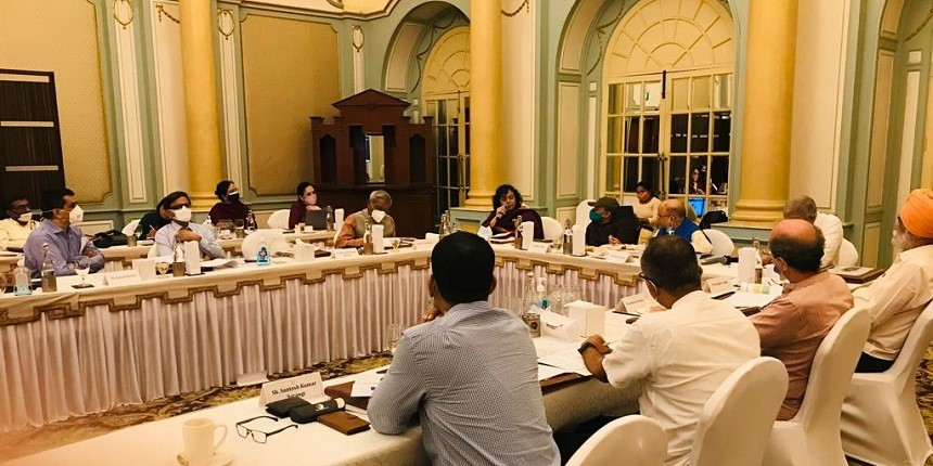 K Kasturirangan chairs first meeting for developing the National Curriculum Framework