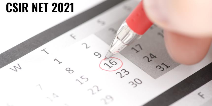 CSIR NET 2021 : NTA to announce exam dates soon