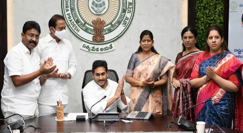 AP govt to distribute sanitary napkins to over 10 lakh adolescent school girls