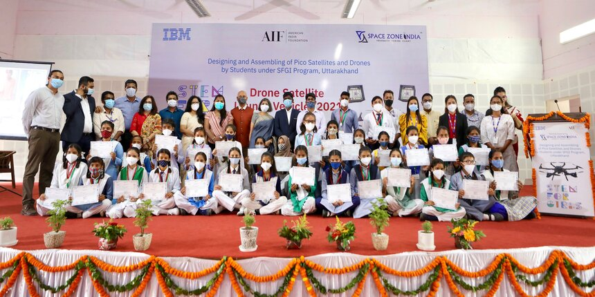 IBM trains girls to develop PICO satellites and drones