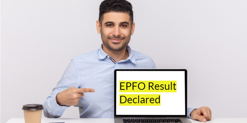 UPSC EPFO Result 2021 announced at upsc.gov.in for 421 vacancies ; Direct link available here