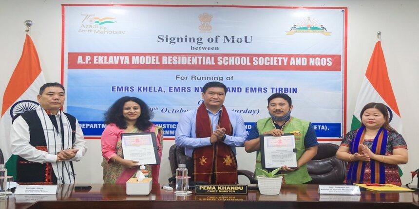 Arunachal signs agreement with NGOs for running three Eklavya schools