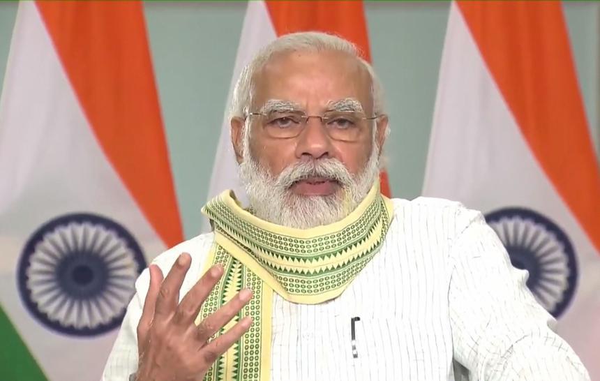 Modi hails Visva Bharati, says it should help farmers, artisans find global markets