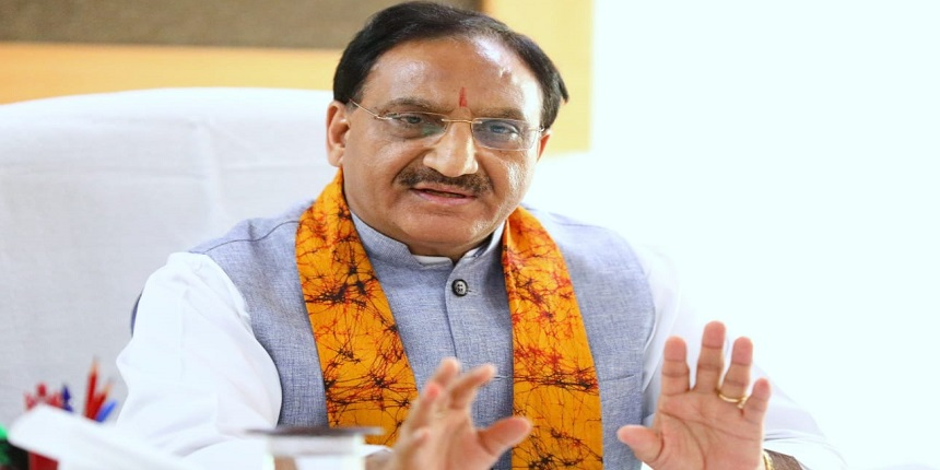 Draw up plan to raise GER to 50%: Ramesh Pokhriyal to officials