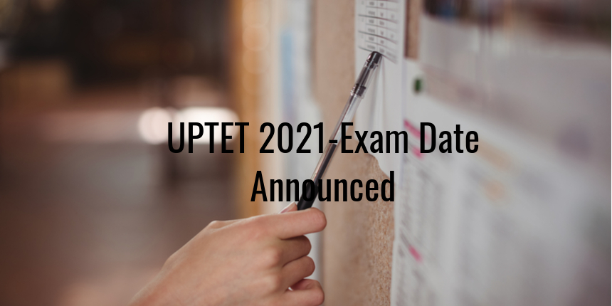 UPTET 2021 notification out, exam to be held on July 25