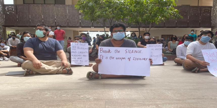 'Bring back Professor Mehta': Ashoka University students issue solidarity statement