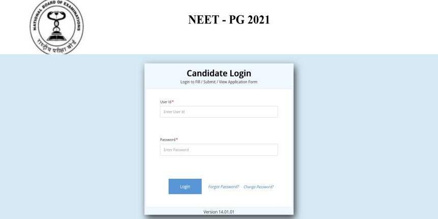 NEET PG 2021 Admit Card LIVE Updates - Hall ticket released; Download at nbe.edu.in