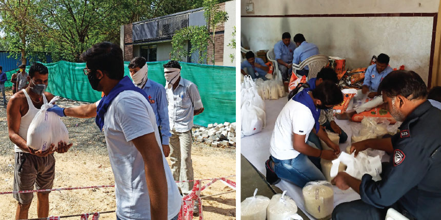 How NSS volunteers in Gujarat fought COVID crisis at the frontline