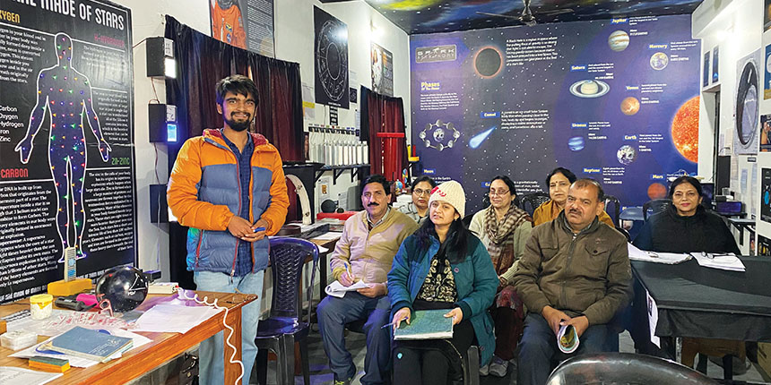 Meet the college student helping Centre build astronomy labs in schools
