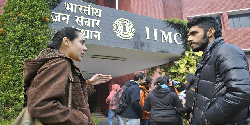 IIMC Delhi agrees to start practical classes on campus after student protest