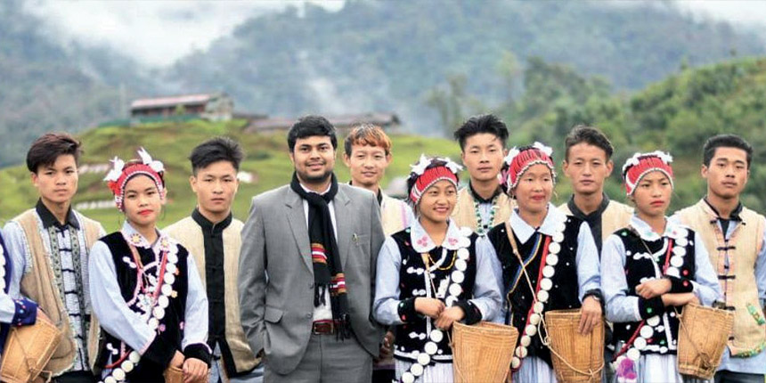 This Arunachal officer is crowdfunding scholarships for DU students