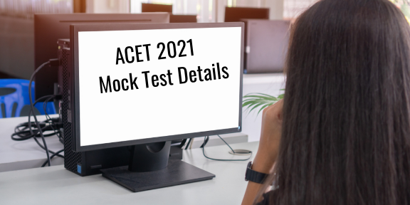 ACET 2021 June session mock test to be conducted on June 19; Important dates here