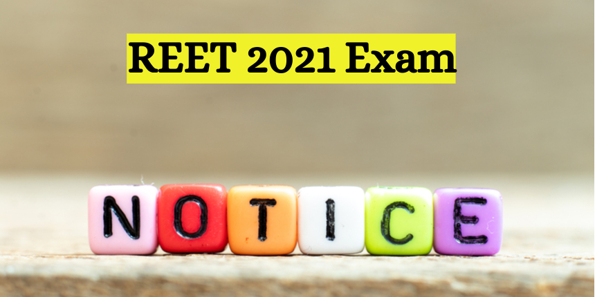 REET 2021: New exam date announced, registration for EWS to begin from June 21
