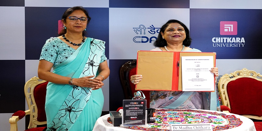 Chitkara University signs MoU with C-DAC to promote research