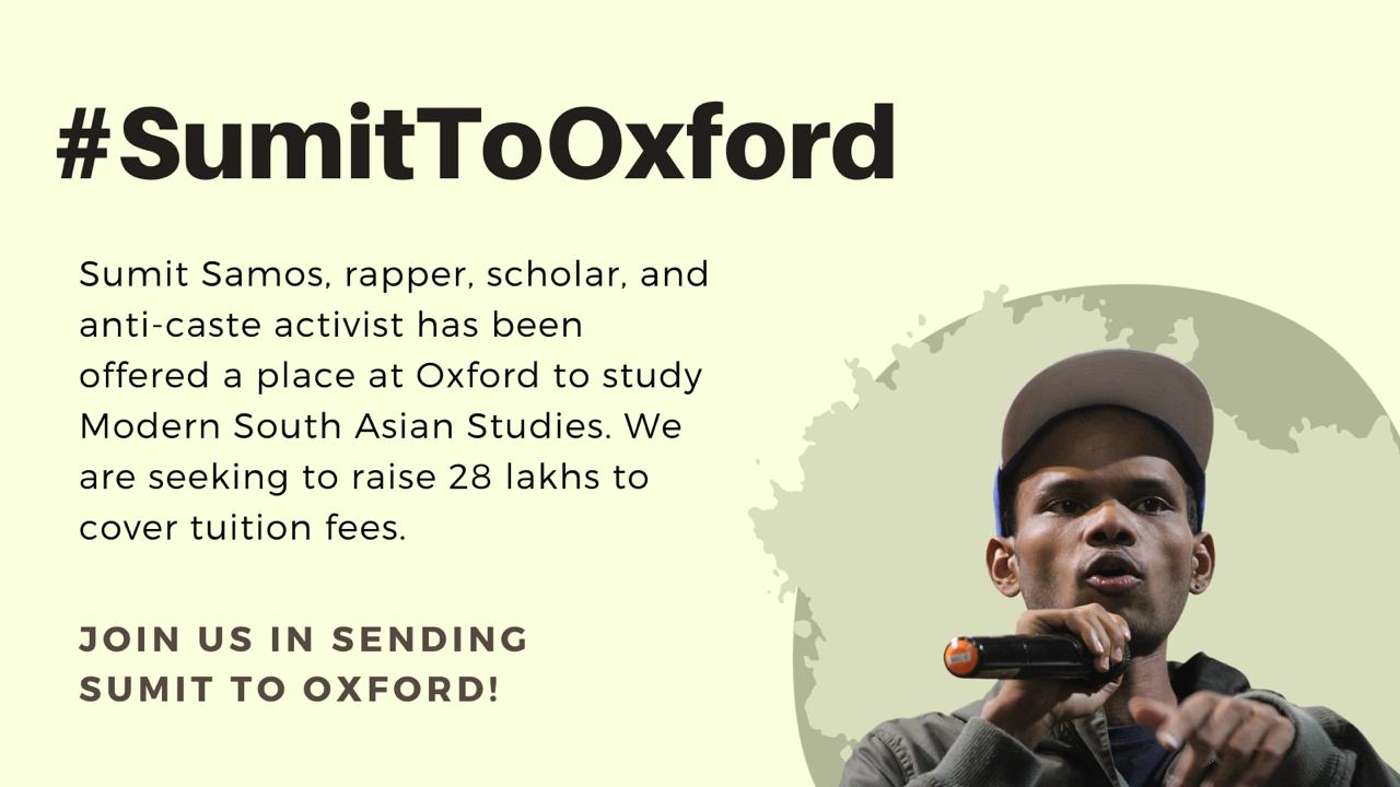 Dalit activist crowdfunds Oxford University admission fee in 3 hours