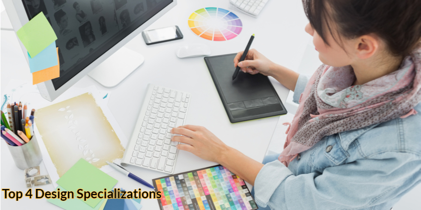Top 4 Design Specializations in 2021: Scope, job roles and salary
