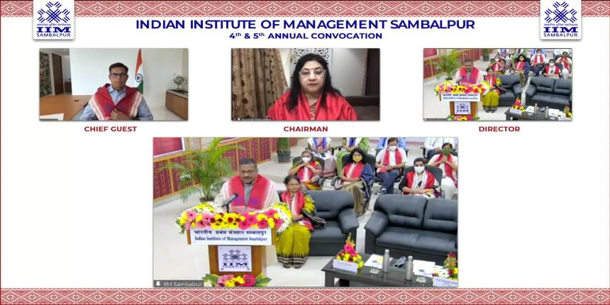 IIM Sambalpur: 187 MBA students graduate from two batches